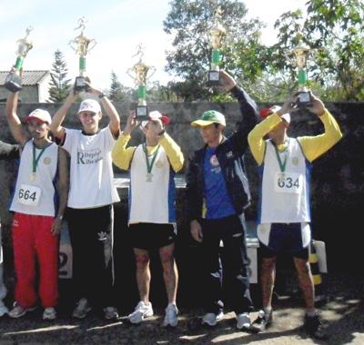 Vencedores da Categoria Geral masculino